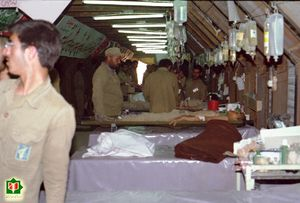 دشواریهای امدادرسانی به مجروحان در روزهای آغازین جنگ