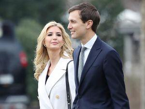 داماد و دختر ترامپ از کاخسفید خارج میشوند