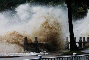 توفان شدید «هاتو» در هنگکنگ