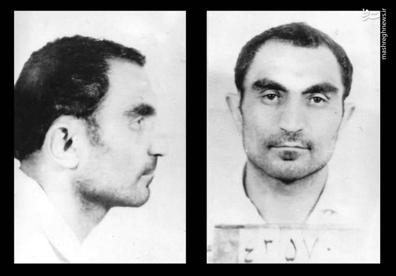 سید اسدالله لاجوردی در بازداشت رژیم طاغوت