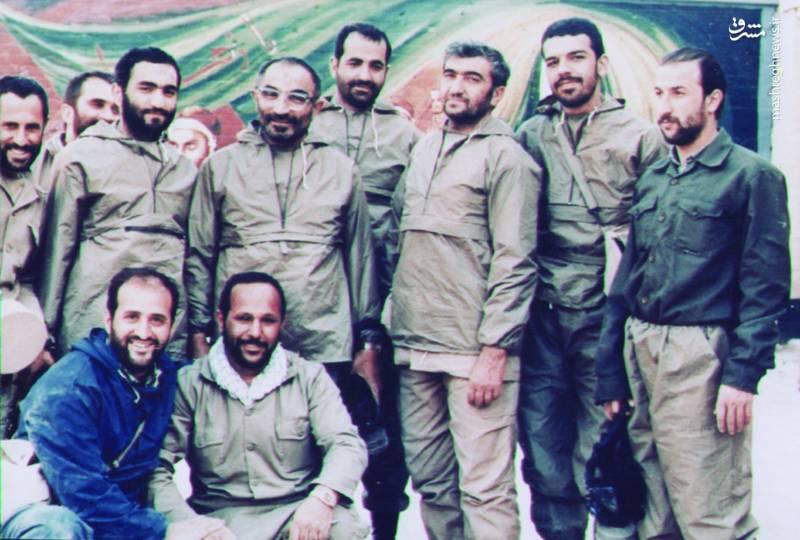 شهید مظلوم سید اسدالله لاجوردی در جبهه های جنگ