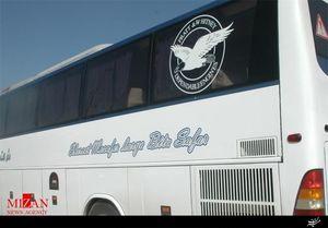 توقیف اتوبوس مسافربری با سرعت سرسام آور