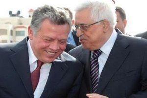 محمود عباس و شاه اردن