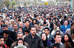 جمعیت مستعد مهاجرت از تهران +جدول