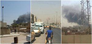 اولین تصاویر از انفجار در شهرک صدر بغداد