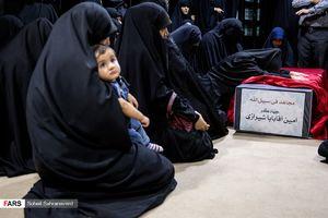 پیام همسر شهیدحججی برای شهدای جهادی