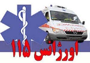 بستری موقت ۱۱ نفر از مصدومان تصادف اتوبوس در محور شلمچه عراق