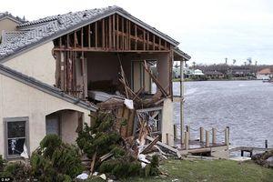 خسارات ناشی از طوفان هاروی