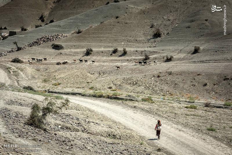 زندگی در روستای محروم کالشور، اسان شمالی