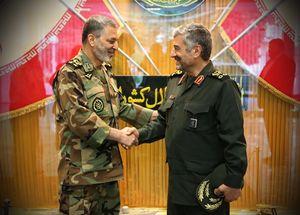 عکس/ دیدار فرماندهان کل ارتش و سپاه