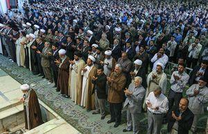 پوشش زنده نماز عید سعید قربان از شبکه یک