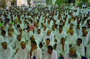 عکس/  آغاز مراسم برائت از مشرکین در عرفات