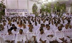 آغاز مراسم برائت از مشرکین در عرفات