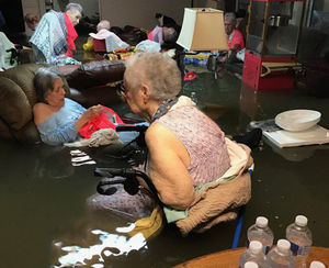 عکس/ وضعیت اسفناک یک خانه سالمندان در تگزاس