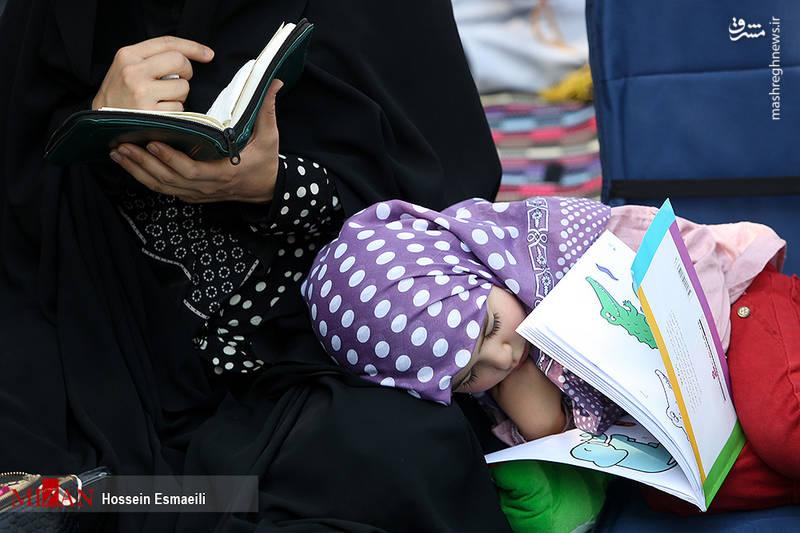 دعای عرفه در خیابان سعدی تهران