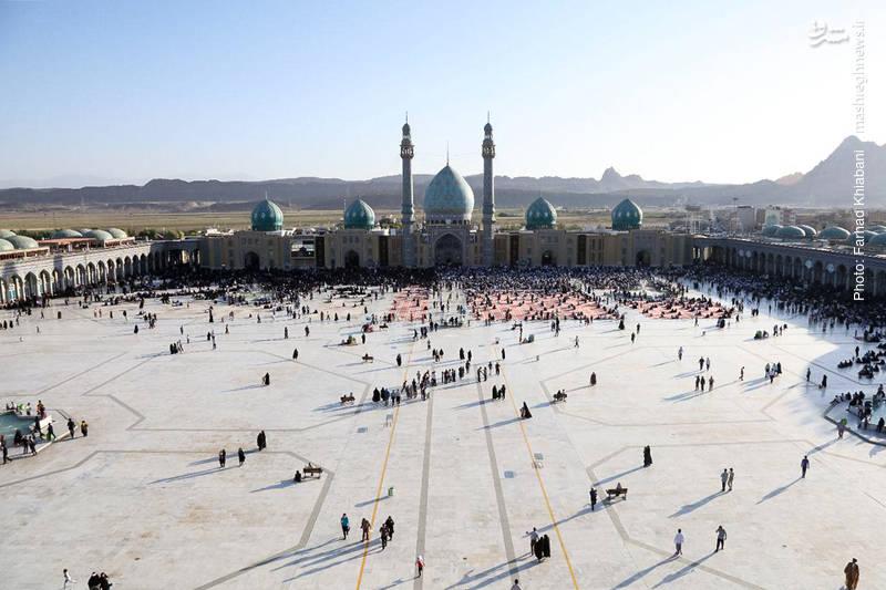مراسم دعای عرفه در مسجد مقدس جمکران