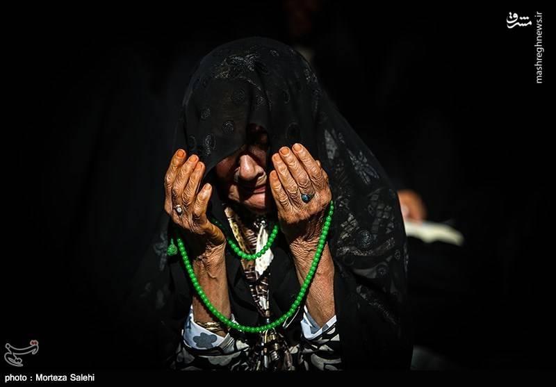 مراسم دعای عرفه در حرم مطهر رضوی