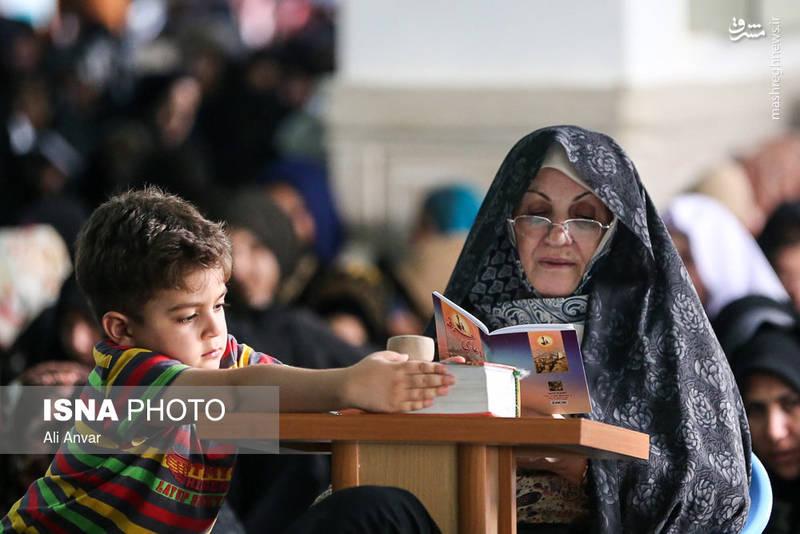 مراسم دعای عرفه در اردبیل