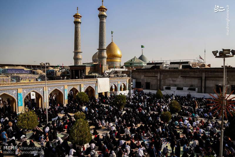 دعای عرفه در حرم حضرت عبدالعظیم حسنی (ع)