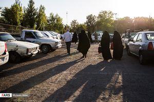 عکس/ نماز عید قربان در مصلی تهران