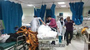 اسامی مجروحان  واژگونی اتوبوس در داراب