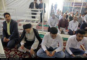 عکس/ حضور رئیسی در نماز عید قربان