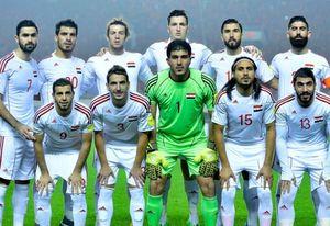 فهرست بازیکنان تیم ملی سوریه برای دیدار با ایران