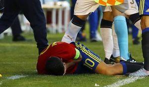 ستاره جوان رئال مادرید مصدوم شد