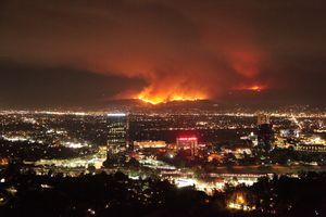 عکس/ آتش در کمین لس آنجلسیها