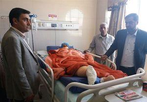 آخرین وضعیت مصدومان دانش آموزان حادثه داراب