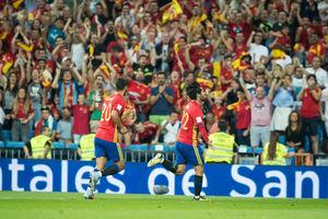 فیلم/ خلاصه بازی لیختن اشتاین 0 - 8 اسپانیا