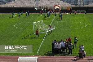 عکس/ تمرین تیم ملی فوتبال پیش از دیدار با سوریه