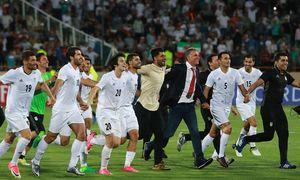 شادی تیم ملی فوتبال صعود به جام جهانی