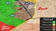 نیروهای سوری به ۵ کیلومتری شهر دیرالزور رسیدند  +عکس، فیلم و نقشه میدانی