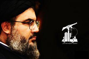 حضور سید حسن نصرالله در میان عزاداران حسینی