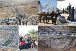 مشکلات آب و اسکان در مرز مهران