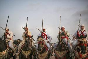 عکس/ قدیمیترین جشنواره سنتی مراکش
