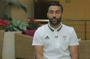 فیلم/ پیام فارسی سامان قدوس پس از دعوت به تیم ملی
