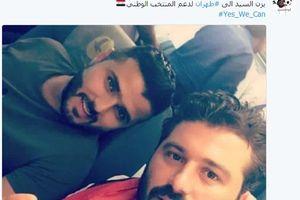 فوتبالیست و هنرپیشه سوری عازم تهران شد +عکس