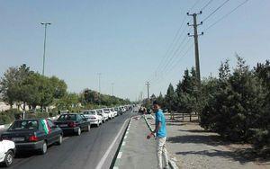 عکس/ هواداران تیم ملی در راه ورزشگاه آزادی