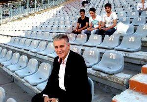 عکس/ بدل کارلوس کیروش در ورزشگاه آزادی