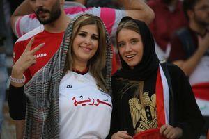 عکس/ حضور تماشاگران سوری در ورزشگاه آزادی