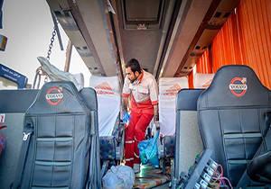 فیلم/ جزییات واژگونی اتوبوس دانشآموزان نخبه