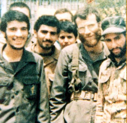 سردار شهید «محمود کاوه» و استادش شهید محمد بروجردی