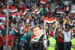 دیدار تیمهای ملی ایران و سوریه