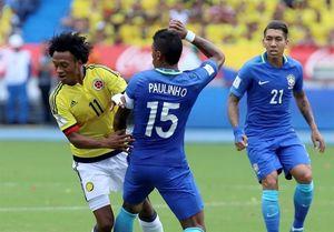 برزیل در خانه کلمبیا امتیاز گرفت
