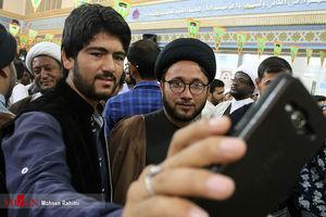 عکس/ عمامهگذاری طلاب غیر ایرانی در مشهد