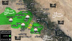 اعزام نیروهای تازه نفس برای شکست محاصره فرودگاه دیرالزور/ حملات سنگین داعش برای محاصره مجدد شهر دیرالزور ناکام ماند + نقشه میدانی و تصاویر,