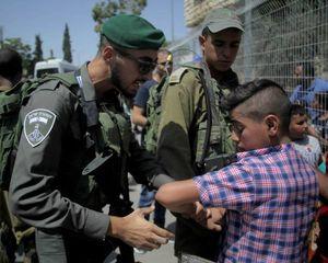 عکس/ تظاهرات فلسطینیها در مخالفت با نژادپرستی صهیونسیتها
