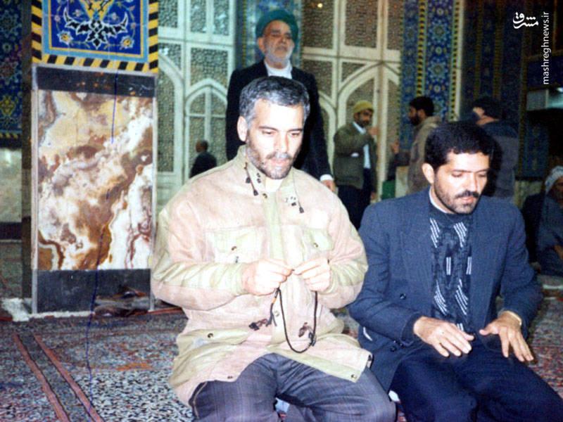 شهید اکبر آقابابایی در سفر درمانی(اندکی پیش از شهادت)